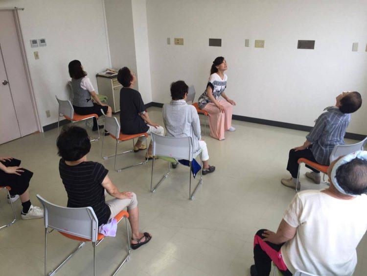 函館中央病院ヨガ1